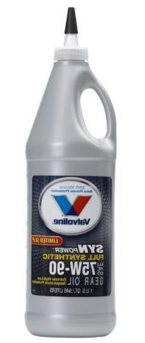 Valvoline  75W-90 Synthetic Motor Oil - 1 Quart Bottle