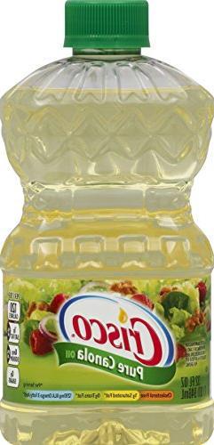 Crisco All Natural Pure Canola Oil, 32 oz
