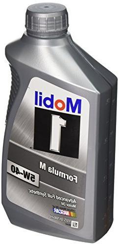 Mobil 1-CASE 5W-40 Formula M Motor Oil - 1 Quart Bottle,