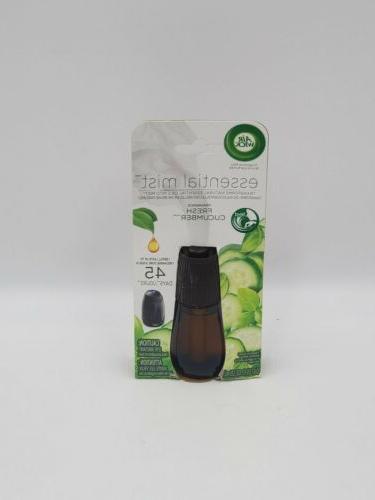 Air Wick Essential Oils Diffuser Mist Refill Fresh Cucumber