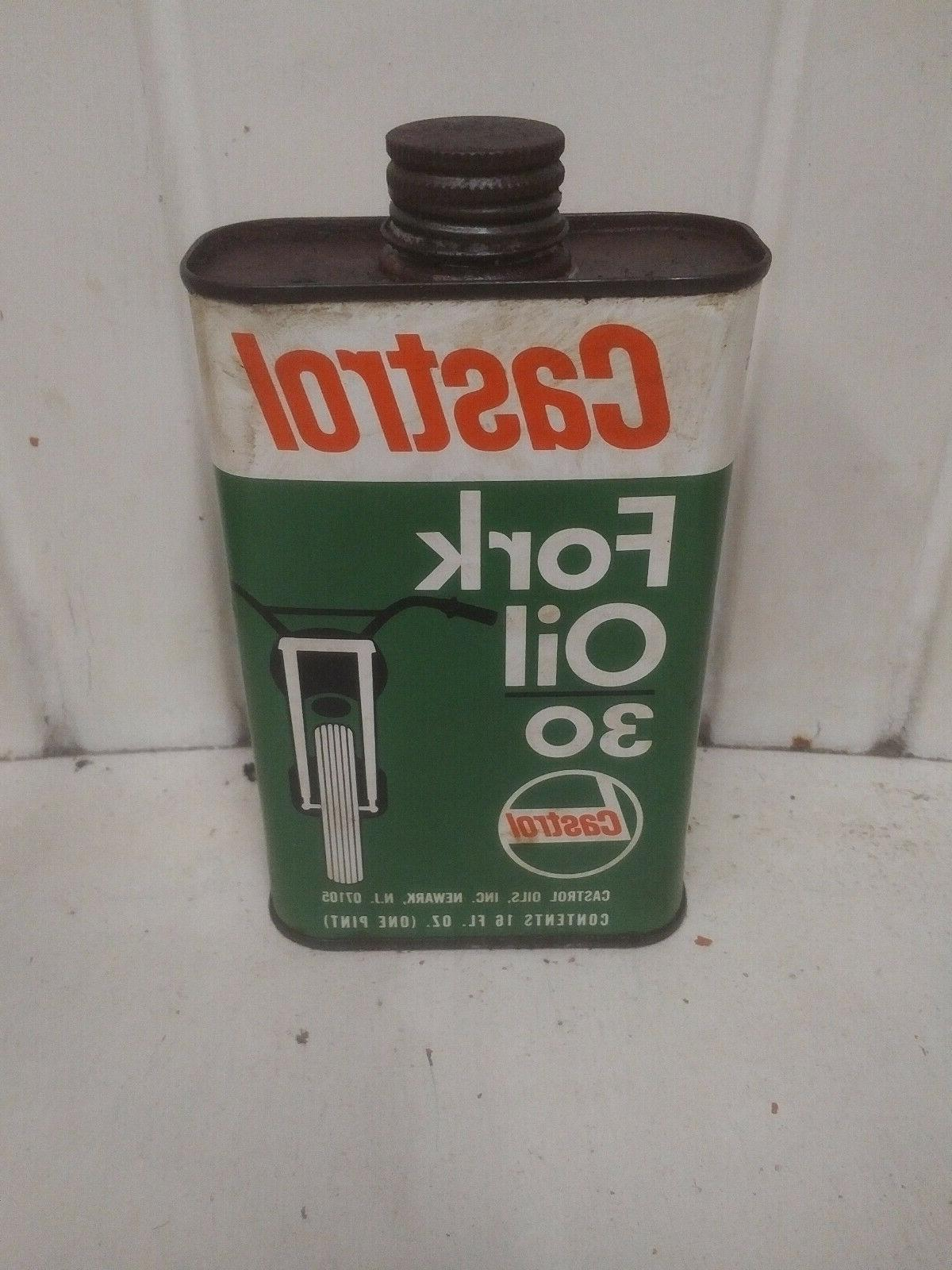 fork oil can metal