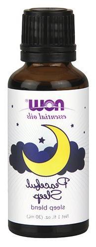 NOW Essential Oils, Peaceful Sleep Blend, 1-Ounce