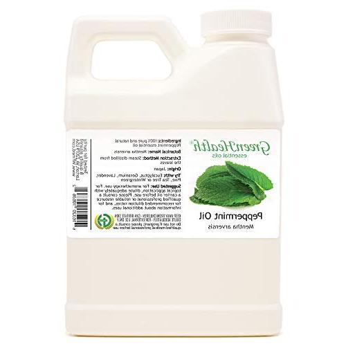 Peppermint Essential Oil 100% Pure, Uncut, 16 fl oz