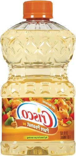 Crisco Pure Peanut Oil, 32-Ounce