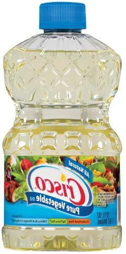 Crisco Pure Vegetable Oil, 32-Ounce