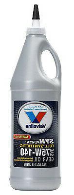 SynPower Gear Oil, Full Synthetic, 75W140, 1-Qt.