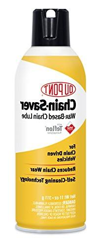 DuPont Teflon Chain-Saver Dry Self-Cleaning Lubricant, 11-Ou
