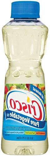 Crisco Pure All Natural Vegetable Oil, 16 oz