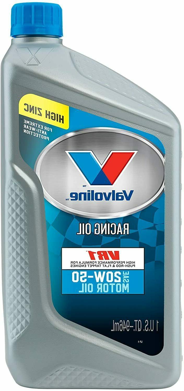 Valvoline VR1 Racing 20W-50 QT Case of -