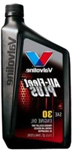 Valvoline  All-Fleet Plus SAE 30 Motor Oil - 1 Quart Bottle,