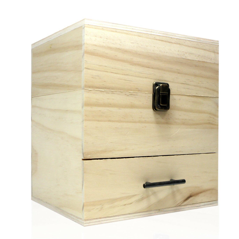 SXC 59 Oil Wooden Organizer - 3 Tiers Storage