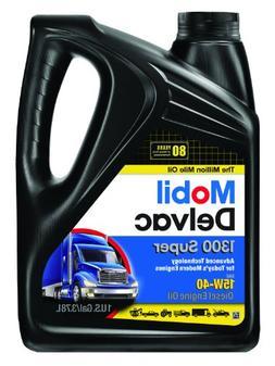 Mobil Super 96819 15W-40 Delvac 1300 Motor Oil - 1 Gallon