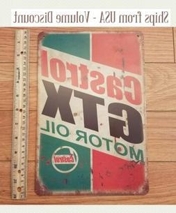 motor oil sign gtx oil lubricants garage
