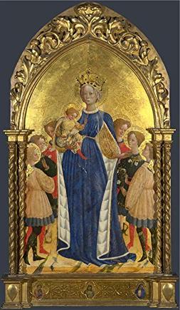 Oil Painting 'Francesco D'Antonio Di Bartolomeo The Virgin A