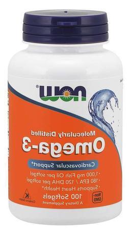 NOW Foods Omega-3 2000mg, 100 Softgels