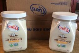 ORIGINAL Crisco Organic Refined Coconut Oil 27.0 FL OZ - 2 P