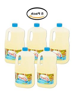 PACK OF 5 - Crisco Pure Vegetable Oil, 1 gallon