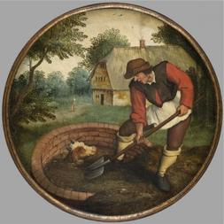 'Pieter Brueghel II,It Is Too Late To Fill In The Well After