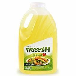 Wesson Pure Canola Oil, 128 oz