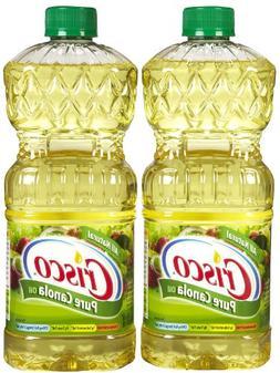 Crisco Pure Canola Oil, 48 oz, 2 pk