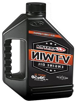 Maxima Racing Oils 30-069128 20w50 V-Twin Mineral Engine Oil