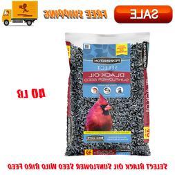 Pennington Select Black Oil Sunflower Seed Wild Bird Feed 40