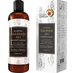 Sensual Massage Oil - 8 Oz   Lavender Aromatherapy & Therape