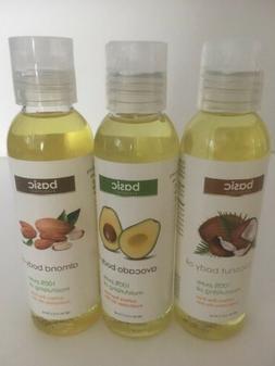 Basic Essentials Set Coconut, Avocado & Almond Body Oil 100%