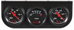 """Bosch SP0F000037 Style Line 1-1/2"""" Mini Triple Gauge Kit"""