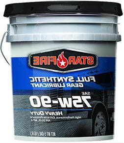StarFire Full Synthetic 75W90 Gear Lubricant 5 Gallon Pail