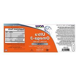 Now Foods Ultra Omega-3 Fish Oil 500 EPA 250 DHA 180 Softgel